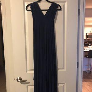 Convertible strap, long formal dress